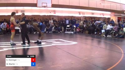 86 kg Final - Alex Dieringer, Titan Mercury Wrestling Club/COWBOY WC vs Myles Martin, Titan Mercury Wrestling Club/OHIO RTC