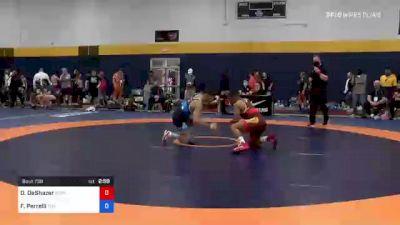 57 kg Quarterfinal - Daniel DeShazer, Gopher Wrestling Club - RTC vs Frank Perrelli, Titan Mercury Wrestling Club (TMWC)