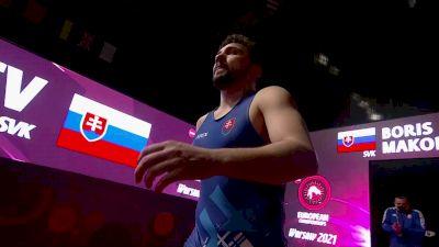 86 kg 3rd Place - Myles AMINE (SMR) vs Boris MAKOEV (SKV)