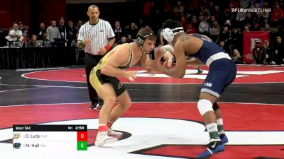 174 lbs Semifinal - Dylan Lydy, Purdue vs Mark Hall, Penn State