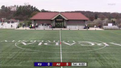 Full Replay - Kean Univ. vs Arcadia Univ. - Men's Soccer Quarterfinal 2