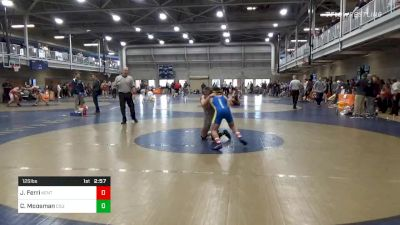 Quarterfinal - Jake Ferri, Kent State Unattached vs Cody Moosman, Cleveland State