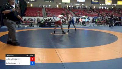 79 kg Cons 16 #2 - Jake Hendricks, Pennsylvania Regional Training Center vs Emil Soehnlen, Boilermaker RTC