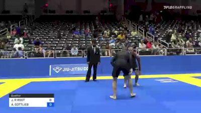 JOSHUA R ROOT vs ADAM GOTTLIEB 2021 World IBJJF Jiu-Jitsu No-Gi Championship
