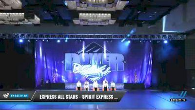 Express All Stars - Spirit Express -Legacy [2021 Senior - Pom Day 2] 2021 ACP Power Dance Nationals & TX State Championship