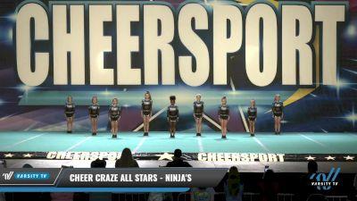 Cheer Craze All Stars - Ninja's [2021 L1 Youth - D2 Day 1] 2021 CHEERSPORT: Charlotte Grand Championship