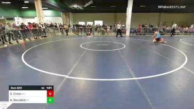 132 lbs Round Of 32 - David Cross, MO vs Nic Bouzakis, PA