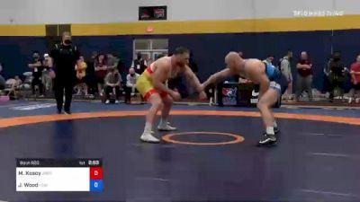 125 kg Semifinal - Michael Kosoy, Oregon vs Jordan Wood, Lehigh Valley Wrestling Club