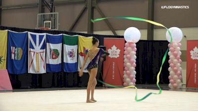 Pauline Krivchun - Ribbon, Planet Rhythmics - 2019 Elite Canada - Rhythmic