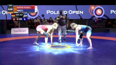 76 kg Gold - Aline Rotter Focken, GER vs Epp Maee, EST