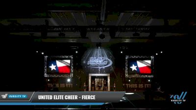 United Elite Cheer - FIERCE [2021 L2.2 Junior - PREP 2] 2021 The U.S. Finals: Grapevine