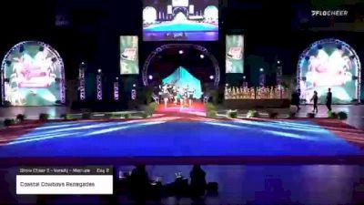 Coastal Cowboys Renegades [2020 Show Cheer 2 - Varsity - Medium Day 2] 2020 Pop Warner National Cheer & Dance Championship
