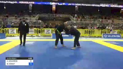 CARLOS EDUARDO vs BRIAN ERNST 2021 Pan Jiu-Jitsu IBJJF Championship