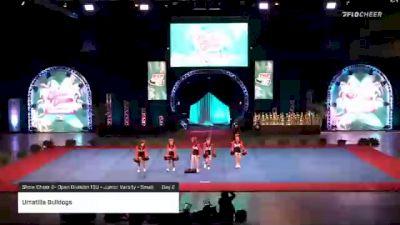 Umatilla Bulldogs [2020 Show Cheer 2- Open Division 13U - Junior Varsity - Small Day 2] 2020 Pop Warner National Cheer & Dance Championship
