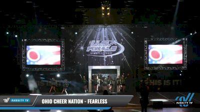Ohio Cheer Nation - Fearless [2021 L2.2 Junior - PREP Day 1] 2021 The U.S. Finals: Louisville