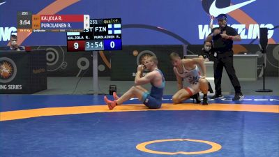 67 kg Quarter-Final - Alejandro Sancho, USA vs Bohdan Kovernyuk, UKR