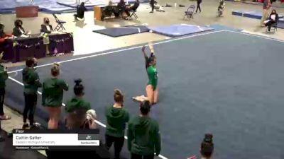 Caitlin Satler - Floor, Eastern Michigan University - 2021 GymQuarters Invitational