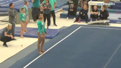 Margzetta Frazier - Floor, Parkettes Gym - 2018 Parkettes Invitational