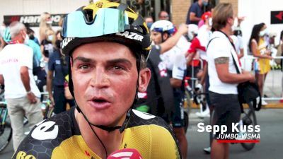 Sepp Kuss: 'Just A Crash; Not Too Bad'