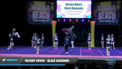 Victory Vipers - Black Diamonds [2021 L6 Senior Coed Open Day 2] 2021 ACDA: Reach The Beach Nationals