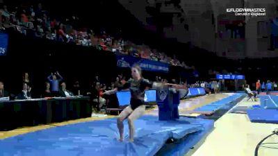 Sarah Means - Vault, Boise State - 2019 NCAA Gymnastics Regional Championships - Oregon State