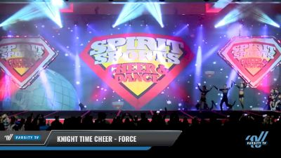 Knight Time Cheer - Force [2018 Senior Coed - Small 4 Day 2] Spirit Sports - Duel in the Desert