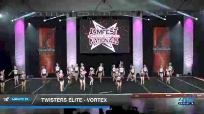 Twisters Elite - Vortex [2021 L3 Youth - Medium Day 2] 2021 JAMfest Cheer Super Nationals