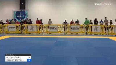 NICOLE C. SULLIVAN vs VANNESSA NANCY GRIFFIN 2020 IBJJF Pan No-Gi Championship