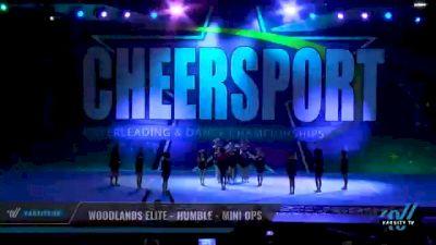 Woodlands Elite - Humble - Mini Ops [2021 L1 Mini - Small Day 2] 2021 CHEERSPORT National Cheerleading Championship