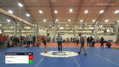 Quarterfinal - Matt Fields, NC State vs Gray Hart, UVA-Unattached