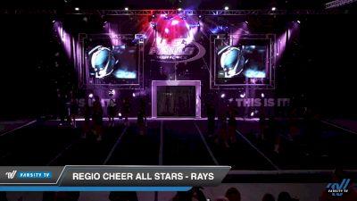 Regio Cheer All Stars - Rays [2019 Senior Coed 3 Day 2] 2019 US Finals Las Vegas