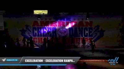 Exceleration - Exceleration Rampage [2021 L2 Senior - D2 - Small Day 2] 2021 The American Celebration DI & DII
