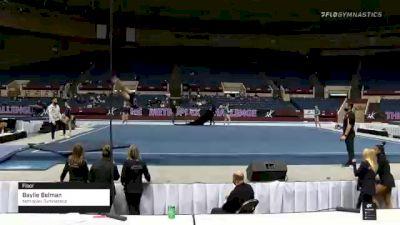 Baylie Belman - Floor, Metroplex Gymnastics - 2021 Metroplex Challenge