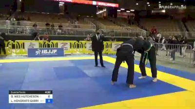 DAVID WES HUTCHESON vs LLOYD HONORATO GARRISON 2021 Pan Jiu-Jitsu IBJJF Championship