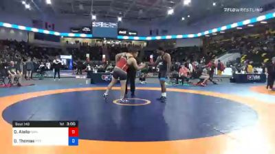 125 kg Prelims - Darryl Aiello, Iowa vs Demertius Thomas, Pittsburgh Wrestling Club