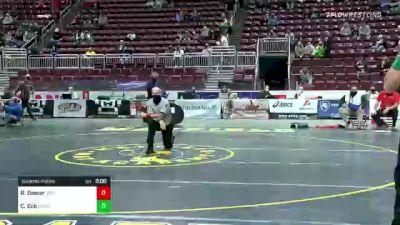 145 lbs Quarterfinal - Riley Bower, Williamsport vs Connor Eck, Bensalem