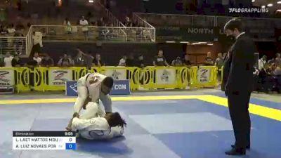 LUCAS LAET MATTOS MOUTINHO vs ANDRÉ LUIZ NOVAES PORFIRIO 2021 Pan Jiu-Jitsu IBJJF Championship
