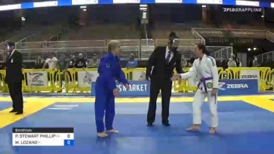 PAIGE STEWART PHILLIPS vs MELISSA LOZANO 2020 World Master IBJJF Jiu-Jitsu Championship