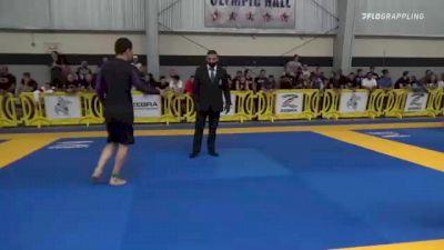 BILIMBEK ALMAMATOV vs BRETT WINSTON BAKER 2021 Pan IBJJF Jiu-Jitsu No-Gi Championship