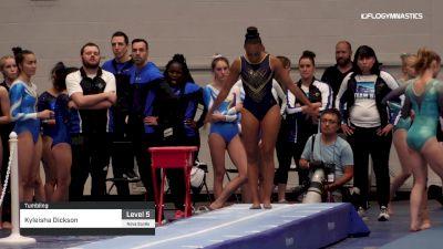 Kyleisha Dickson - Tumbling - 2019 Canadian Gymnastics Championships - TG