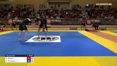 Ben Dyson vs Ahmed Prusevic 2019 2nd ADCC European Trials