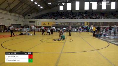 Match - Lenny Petersen, Air Force vs Cameron Hunsaker, Utah Valley University