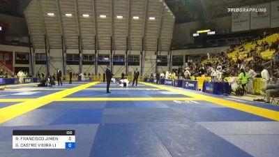 GABRIEL CASTRO VIEIRA LIMA vs ROBERTO JIMENEZ 2019 Long Beach International Open IBJJF Jiu-Jitsu Championship