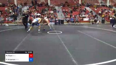70 kg Prelims - Matthew Ryan, Bulls Wrestling Club vs Parker Kropman, Pennsylvania RTC