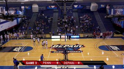 Replay: Penn vs DePaul   Sep 11 @ 11 AM