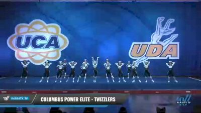 Columbus Power Elite - Twizzlers [2020 L2 Junior - Small - D2 Day 2] 2020 UCA Smoky Mountain Championship