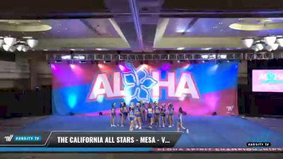 The California All Stars - Mesa - Vixens [2021 L6 Senior - XSmall Day 1] 2021 Aloha DI & DII Championships