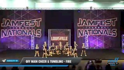 Off Main Cheer & Tumbling - Fire [2021 L3 Youth - D2 Day 2] 2021 JAMfest: Louisville Championship
