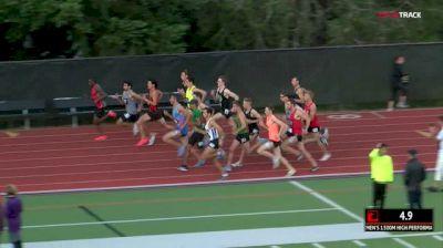Men's 1500m, Heat 1