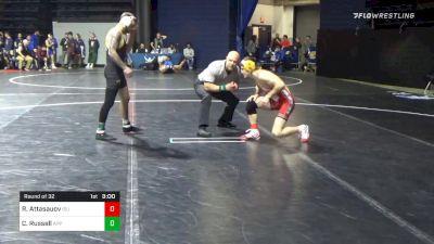 133 lbs Prelims - Ramazan Attasauov, Iowa State vs Codi Russell, Appalachian State